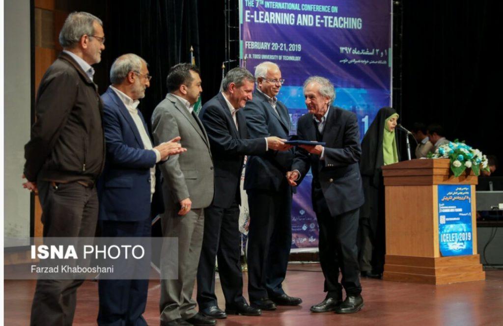 موسسه هدایت فرهیختگان جوان به عنوان شرکت برتر سیزدهمین کنفرانس ملی و هفتمین کنفرانس بین المللی یادگیری و یاددهی الکترونیکی